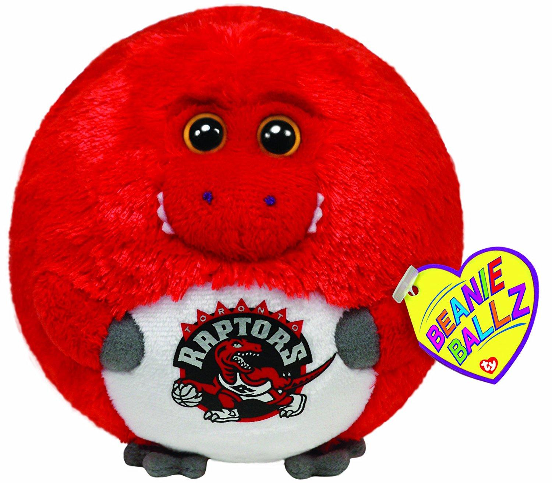 Get Quotations · Ty Beanie Ballz Toronto Raptors - NBA Ballz 41073334030