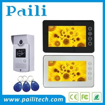 Paili 2 Wire Two Way Audio Doorbell Video Door Phone Door Entry
