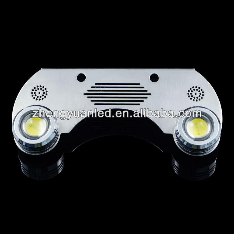 New product! SS316 multi-color 2X9W under water led lighting lamps, IP68 waterproof LED trim tab light