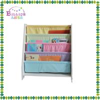 2016 Colorful kids wooden bookshelf, wooden bookshelf for kid, Portable children Wooden Book Shelf