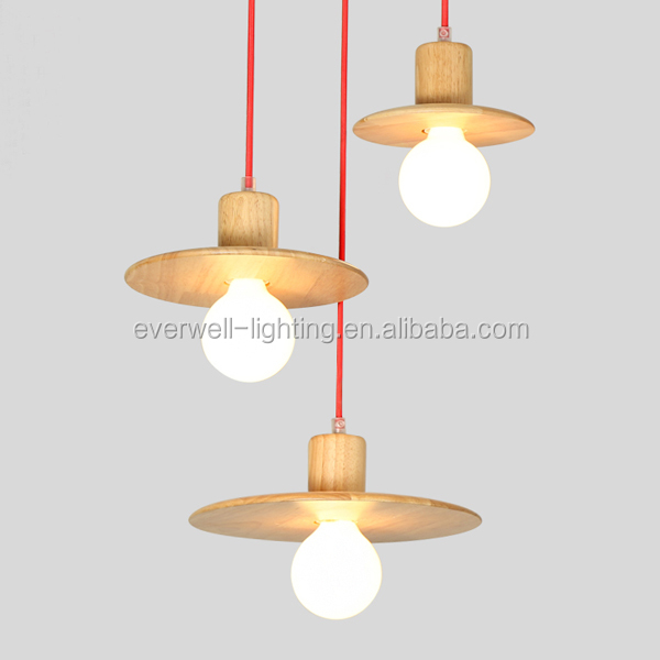 Indoor Lighting Decorative Wood Pendant Light,European Pendant Lamp
