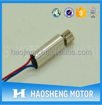 4mm coreless mini vibrating motors for small toys, mobile phones, pagers