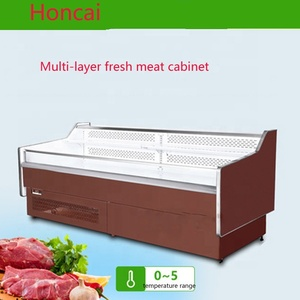 Made in China supermarket meat fridge/commercial display refrigerator with CE certification
