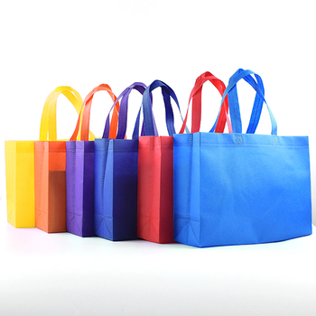 Promotional Custom Colored Non Woven Tote Shopping Bag