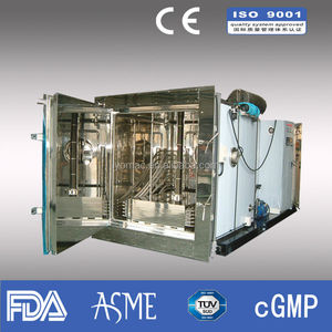 Vacuum freeze dryer for food/Lyophilizer/freeze dry machine 260kg/liter
