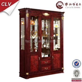 home drinks glass display cabinet 839