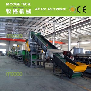 pp pe plastic film recycling line/PE PP soft plastic washing plant