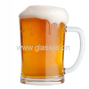 Wholesale Big 24oz Glass Beer Mug