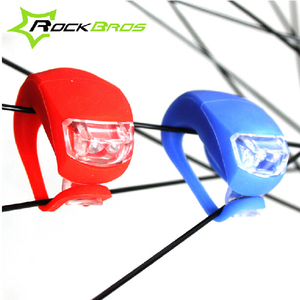 ROCKBROS Bicycle Wheel Spokes Light MTB Mountain Bike Road Bike Rear Lamp Riding Bike light 6 Colors