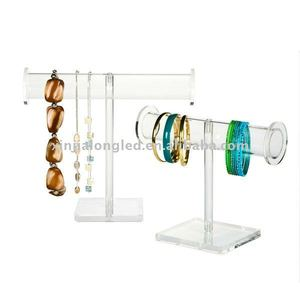 Acrylic Jewelry Hangers or Acrylic Bracelet Display Holder