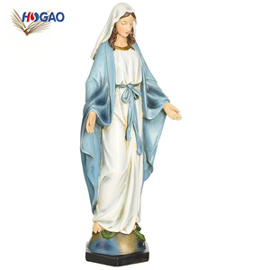 Renaissance collection wholesale custom made figurine mother virgin mary statue