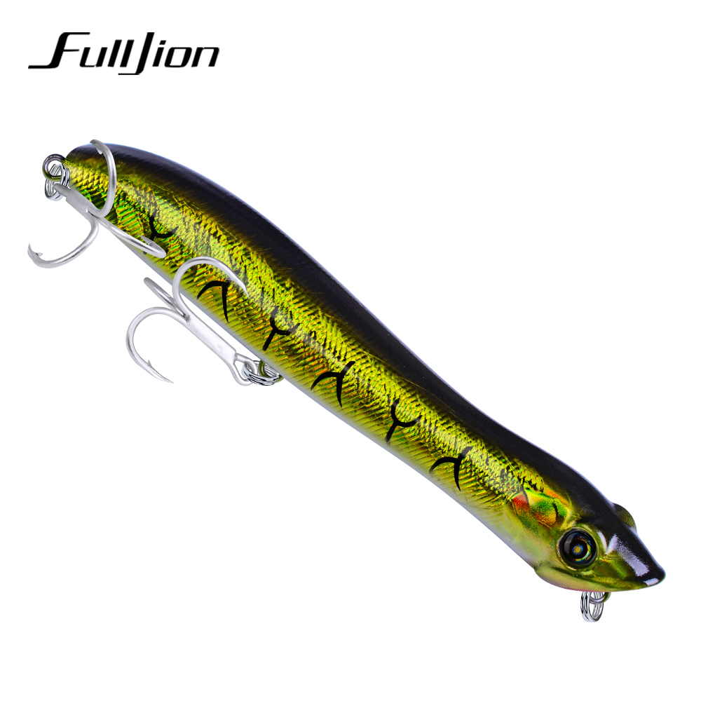 Fulljion- Wobblers Hard Baits Minnow Sinking Pencil Tackle Tools Artificial Painting 12.5cm 19g Fishing Lures фото