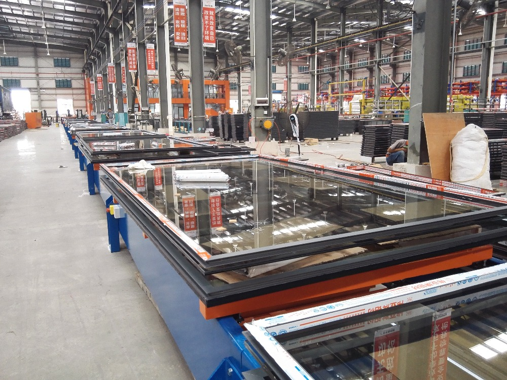 curtain wall system Aluminum Glass Curtain Wall with high performance in security