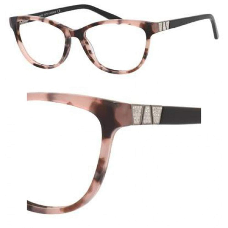 Eyeglasses Saks Fifth Avenue 304 0MK5 Havana Glitter Gray