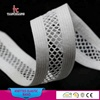 18mm net design knitted elastic band webbing lace for clothing TC35
