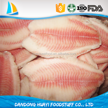 Good Water Farm Raised Tilapia Fish Certificated ISO HACCP