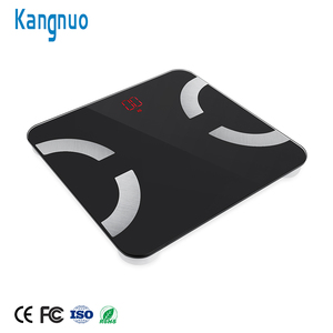 Good Quality 6mm Tempered Glass 180Kg 396Lb Bluetooth Body Fat Scale