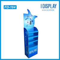 Hair dye Retail Recyclable Corrugated Paper Display Bin