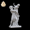 Western large stone famous roman statues garden NTMS0955A