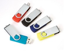 Bulk Price Promotional Gift swivel usb flash drive with logo