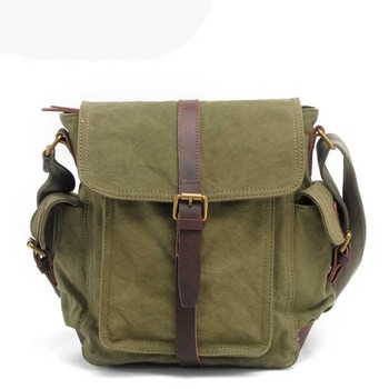 9196b01ac0 Custom Men Canvas Outdoor Crossbody Bag Retro Casual Canvas Handbag Canvas  Messenger Style Shoulder Bag