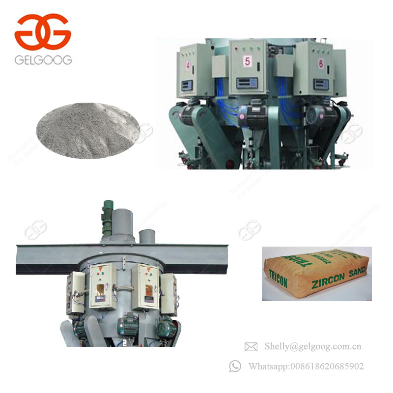 Cement Chemical Powder Dry Plaster Zinc Oxide Barium Sulfate Packing Machinery Calcium Carbonate Packaging Machine