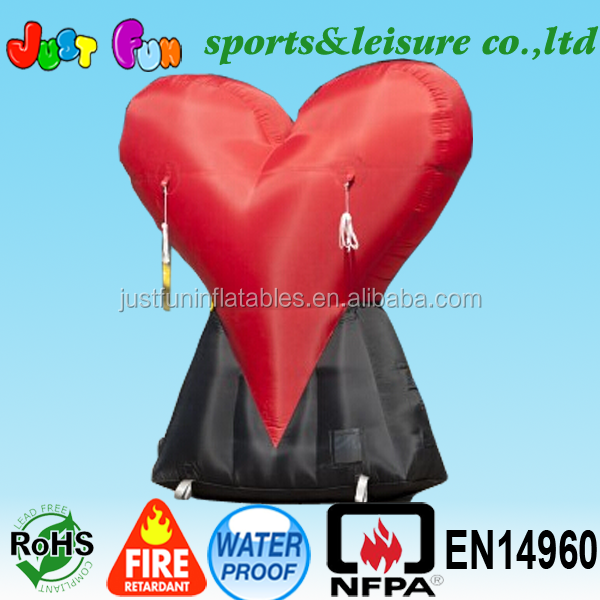 Large Inflatable Heart, Large Inflatable Heart Suppliers And Manufacturers  At Alibaba.com