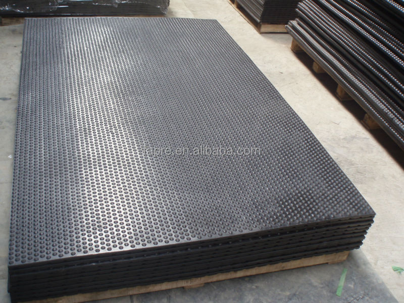 Factory Price Bubbbletop Rubber Mats Rolled Anti Slip