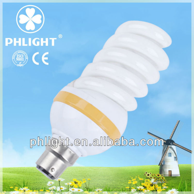 CFL DC 12V 9mm 3W Full Spiral Energy Saving Lamps