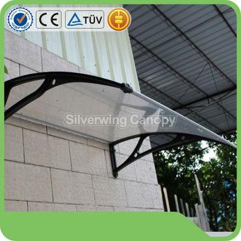 Outdoor DIY Metal Aluminum Bracket Canopy kits for front and back door & Outdoor Diy Metal Aluminum Bracket Canopy Kits For Front And Back ...