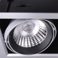 AR111 led downlight fixture cob grid led downlight 20w led drop ceiling light fixture with 5 yrs warranty
