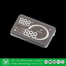 show Rpm Speed Overspeed Warning hud head up display, head up display speed display XY-HUD206