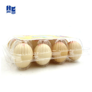 Cheap Clear Egg Plastic Blister Packaging Tray/Container For Supermarket Sell