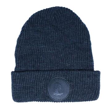 e5f16802cb9 Fashion Winter hat custom leather patch beanies