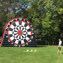 6m giant inflatable football dart board foot dart game for sale