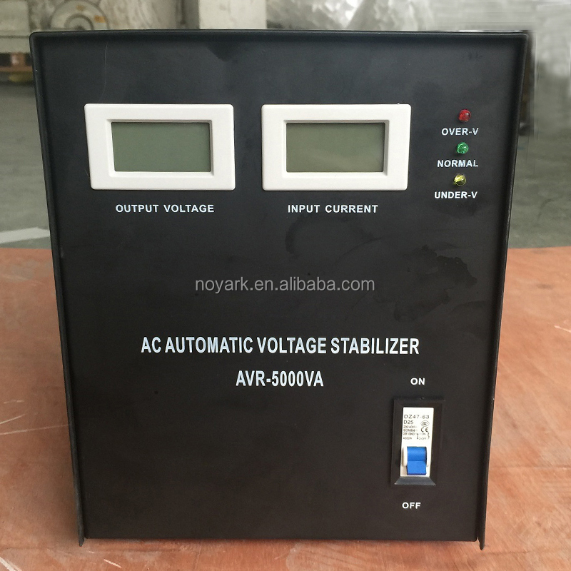 svc 5000va ac automatic voltage regulator 220v