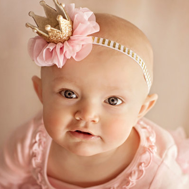 Free Shipping Newborn 2017 Hair Accessories Princess Crown <strong>Headband</strong>