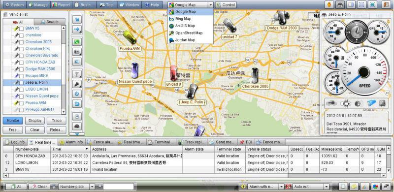 Vehicle Tracking System Platform Gps Software