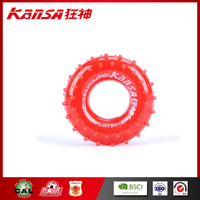 Kansa-0327 Wholesale Red Color Hand Power Strength Hand Grip Ring