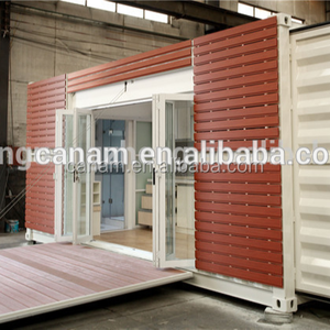 Stocked Modern low price 40ft/20ft high cube container apartment building for sale used/luxury prefab homes