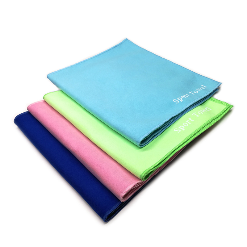 Personalized Microfiber Suede Sports Gym Towel With Logo