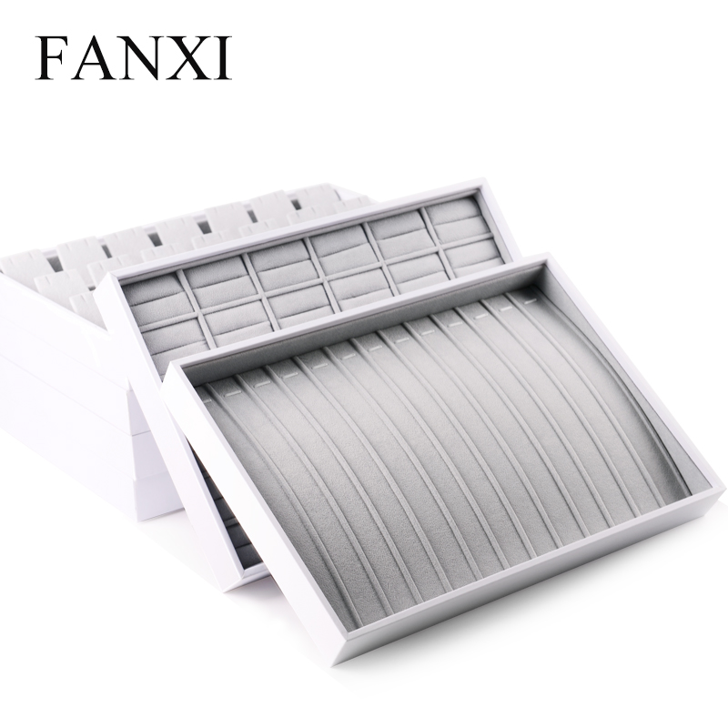 Fanxi China Supplier Leather Jewelry Display For Necklace Ring ...