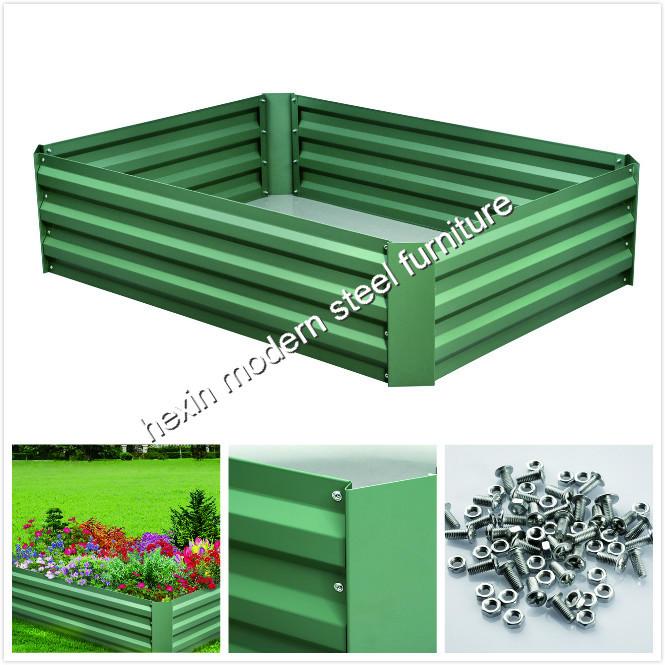 Diy Australia Green Life Galvanized Metal Garden Raised Bed Steel