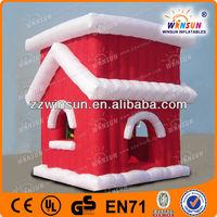 christmas giant santa inflatable airblownyard deco
