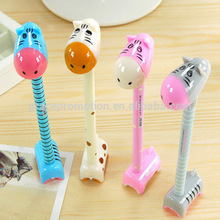 2017 Hot Sales Cartoon Animals Ball Point Pen For Cheaper Promotion