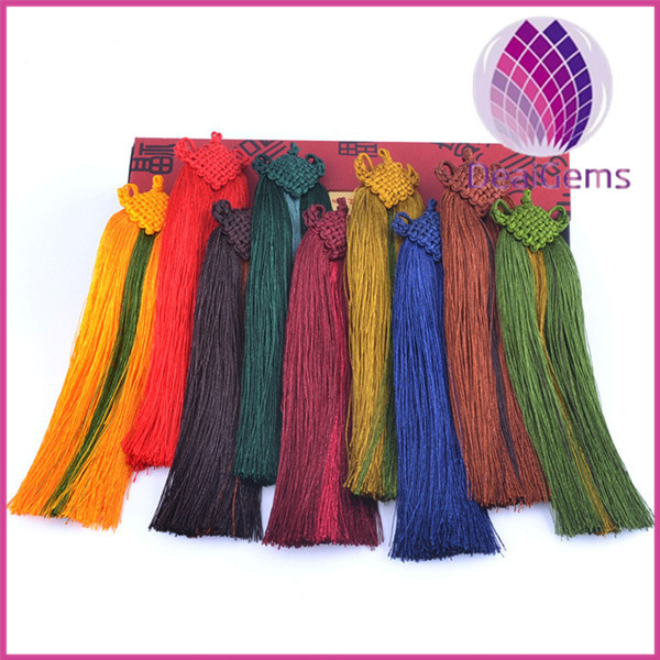 Decoration leng Polyester Tassel fringe Curtain tassel