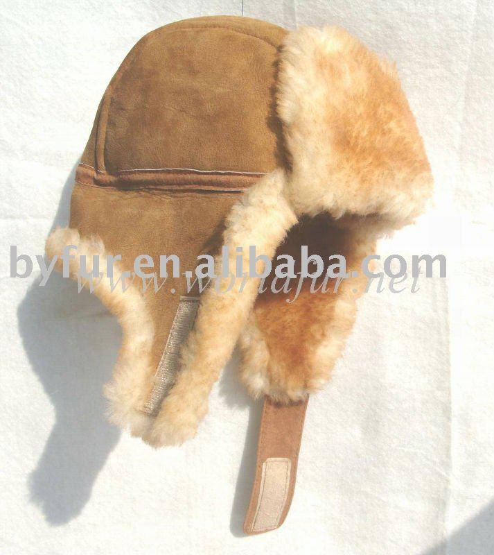 a1c51fb7ff037 By-sp002 Shearing Sheepskin Trapper Hat - Buy Shearing Sheepskin ...