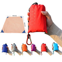 Breathable Ultralight Custom Outdoor Foldable Waterproof Pocket Picnic Blanket