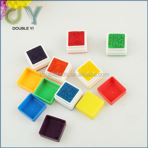 Custom plastic shiny stamp for kids