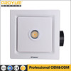 10 inch ceiling mounted white exhaust fan with lighting for bathroom ventilation